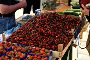 Gundulic Square Dubrovnik open market