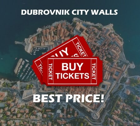 Buy Tickets Walls Dubrovnik