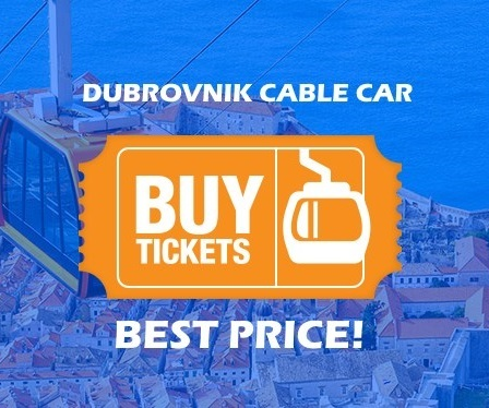 Cable Car Dubrovnik ticket